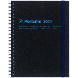 2020年 デルフォニックス 手帳 ロルバーン ダイアリー A5 100019-105 ブラック  ...