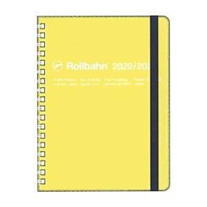 デルフォニックス 2020年春 手帳 2020年3月始まり ロルバーン ダイアリー クリア L300021-718 クリアイエローの商品画像|ナビ