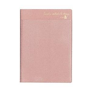 2020年 クツワ A6 家族手帳 ミニ軽 L 薄型 チーク・ピンク SH989C