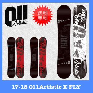 011Artistic 17-18 X FLY スノーボード...