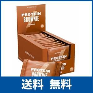 マイプロテイン プロテイン ブラウニー チョコレート味 75g 12枚入り|ikesma