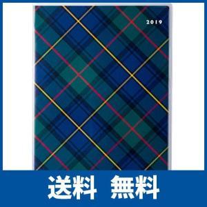 高橋 手帳 2019年 4月始まり マンスリー クレール インデックス 4 B6 チェック No.689|ikesma