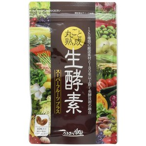 うるおいの里 丸ごと熟成生酵素 60粒入り スーパーフルーツプラス|ikesma