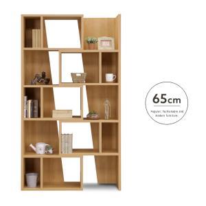 【設置代無料】スライドシェルフ 65 Woods ウッズ 国産 スライド式   本 本棚 棚 小物置き 収納 便利 幅65 シンプル ナチュラル スライド 人気 おしゃれ|ikikagu