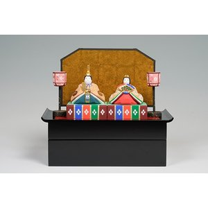 雛人形/親王雛「かぐや」/一刀彫/奈良/ひな人形|ikkisya