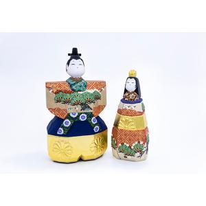 雛人形「山の辺」5号サイズ/一刀彫/奈良/立雛/ひな人形|ikkisya