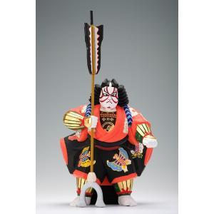 矢の根(歌舞伎)/奈良一刀彫/木彫人形/かぶき/やのね|ikkisya