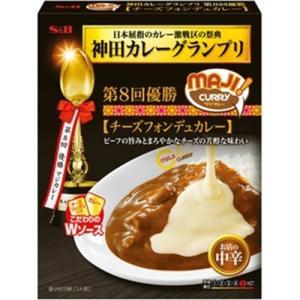 エスビー食品(S&B) 神田カレーグランプリ MAJIカレー チーズフォンデュカレー 5入