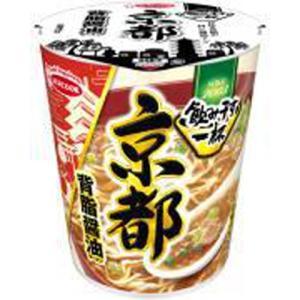 エースコック 飲み干す一杯 京都背脂醤油ラーメン 12入|ikkomon-marche