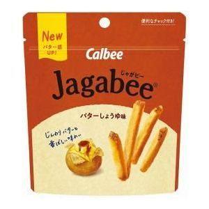 カルビー Jagabee(ジャガビー)スタンドパウチ バターしょうゆ味 40g×12入|ikkomon-marche