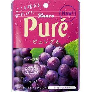 カンロ ピュレグミ グレープ味 6入|ikkomon-marche