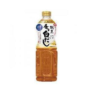 【萬】割烹香り白だし 1L×6入|ikkomon-marche
