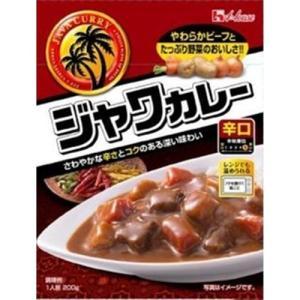 ハウス食品 レトルトジャワカレー 辛口 200g×10入