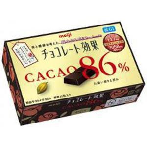 明治 チョコレート効果カカオ86% 70g×5入