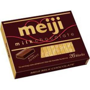 明治 ミルクチョコレートBOX 26枚×6入