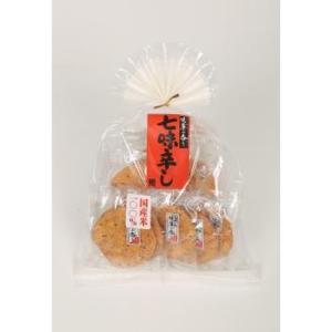 日新製菓 暖簾の香り 七味辛し 9枚×6入