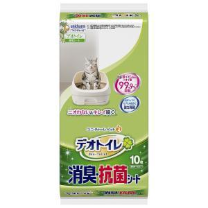 ユニチャーム ペット デオトイレ 消臭・抗菌シート 10枚入り 1ケース12個セット