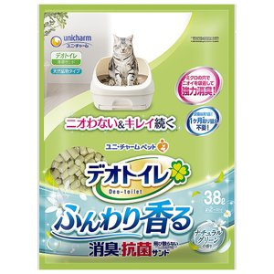 ユニチャーム デオトイレ ふんわり香る消臭・抗菌サンド 3.8L 1ケース4個セット