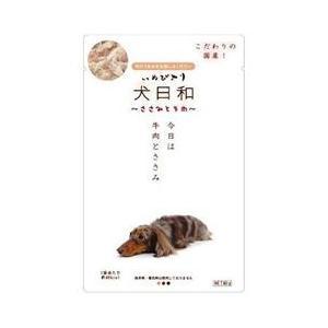 わんわん 犬日和 レトルト ささみと牛肉 80g|ikoapetfood