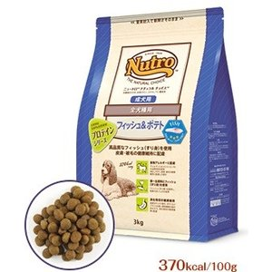 ニュートロ ナチュラルチョイス フィッシュ&玄米 ポテト入り 全犬種用 成犬用 6kg