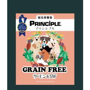 プリンシプル グレインフリー サーモン&SW 2.4kg|ikoapetfood