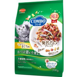 日本ペットフード コンボ キャット まぐろ味・かつおぶし・小魚添え 700g|ikoapetfood