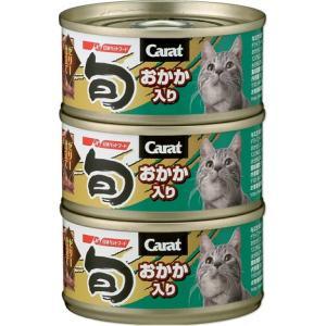 「キャラット・旬 おかか入り」は、愛猫の大好きなツナフレークをベースに、風味豊かなおかかをトッピング...