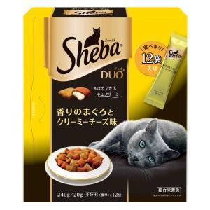 マースジャパン シーバ デュオ 香りのまぐろとクリーミーチーズ味 240g SDU8 1ケース12個セット ikoapetfood