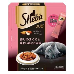 マースジャパン シーバ デュオ 香りのまぐろと味わい鶏ささみ味 240g SDU-9 1ケース12個セット