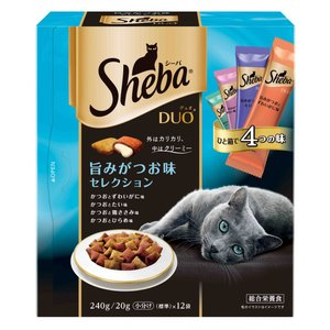 マースジャパン シーバ デュオ 旨みがつお味セレクション 240g SDU-13 1ケース12個セット