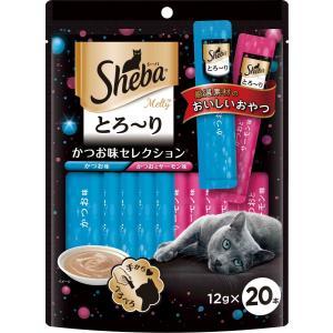 マースジャパン シーバ メルティ とろ〜り かつお味セレクション 12g×20本 SMT31 1ケース20個セット ikoapetfood