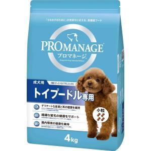 マースジャパン プロマネージ 成犬用 トイプードル専用 4kg KPM72 1ケース3個セット ikoapetfood