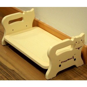ドギーマン ウッディーダイニング キャット (猫用食器台)