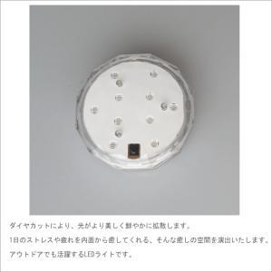 バスライト アクアライト お風呂に沈めて使える防水カラフルledライト 13