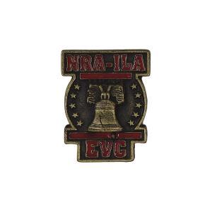 全米ライフル協会 ピンズ NRA-ILA ピンバッチ ラペルピン ビンテージ ピンバッジ 留め具付き