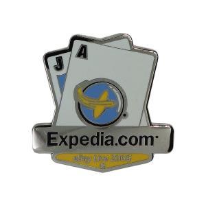 アメリカから入荷しました、ピンズ。 Expedia.com。   縦 約3.2cm 横 約3.2cm...