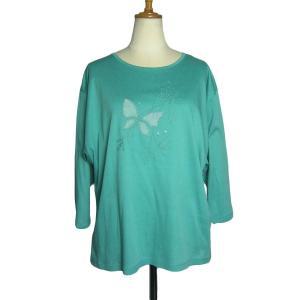 ヨーロッパから入荷しました、蝶柄80'sヴィンテージTシャツ。 【セール品の為、代金引き換え不可×】...