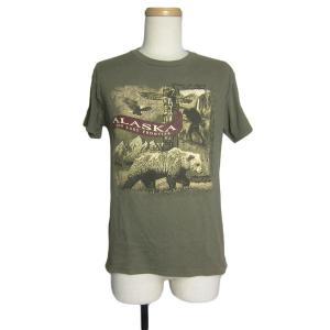 アメリカから入荷。 アラスカ州のプリントTシャツ。    ●表記サイズ●S ●計測● 肩幅 約45....