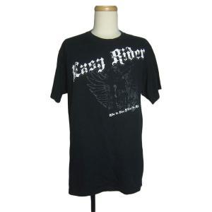 アメリカから入荷。 Easy Rider イージーライダーのバイカープリントTシャツ。  ●BODY...