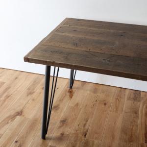 古材ダイニングテーブル150 タイプB無料設置配送 ikpイカピー|ikp