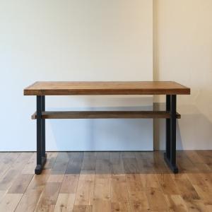 古材カフェテーブル130無料設置配送 ikpイカピー|ikp