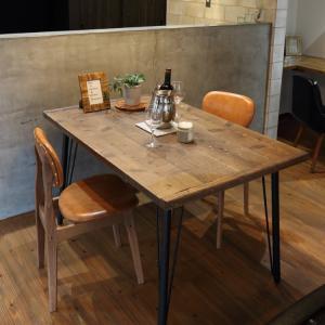 ダイニングテーブル古材120 タイプB無料設置配送 ikpイカピー|ikp