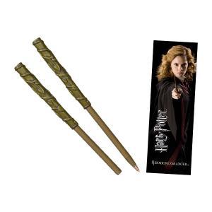 人気映画「ハリーポッター」シリーズに登場するキャラクター達の杖型ボールペンとブックマークのセットが登...