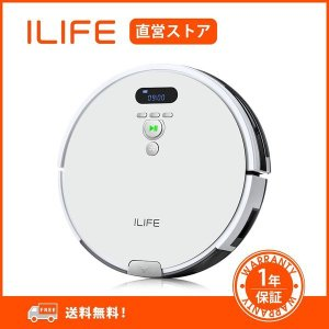 ILIFE アイライフ V8eロボット掃除機 大容量ダストボックス 強力吸引 エレクトロウォール付き...