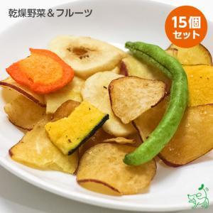 まとめ買い 犬 おやつ 無添加 乾燥野菜&フルーツ×15個セット イリオスマイル ポイント消化|iliosmile