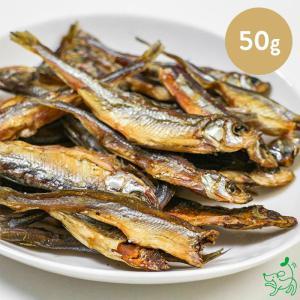 犬 おやつ トッピング 無添加 ロシア産 ワカサギ 50g 淡水魚 イリオスマイル|iliosmile