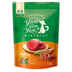 犬 ドッグフード 国産 Yum Yum Yum ヤムヤムヤム 馬肉 ドライタイプ 2kg イリオスマイル ポイント消化 iliosmile