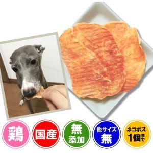 犬 おやつ ジャーキー 無添加 国産 無薬飼育鶏のスライスジャーキー 100g  プライムケイズ イリオスマイル ポイント消化|iliosmile
