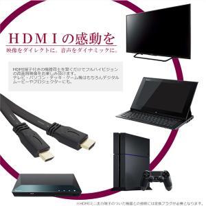 HDMIケーブル 薄型 スリム フラット 5m...の詳細画像2