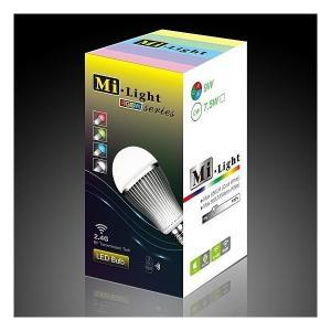 Milight 調光・調色LED電球 フルカラー&電球色|illumica-y